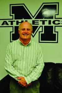 Mercyhurst College's Athletic Director Joe Kimball is nearing the end of his first year at the athletic director position.